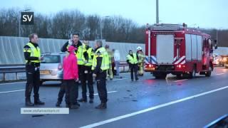 Bizar ongeval op de A28 bij Zwolle-Zuid - ©StefanVerkerk.nl