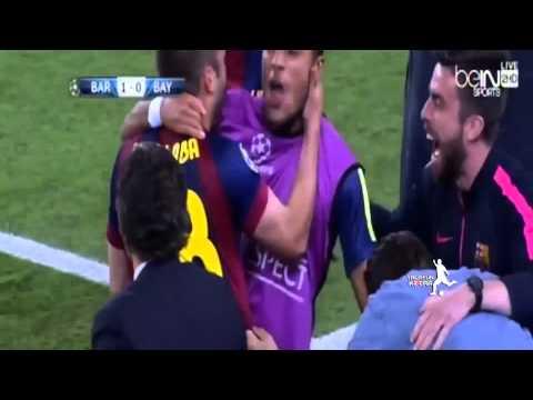 FC Barcelona 3-0 Bayern Munich GOLES (Audio ALFREDO MARTINEZ, Onda Cero Radio) CHAMPIONS LEAGUE