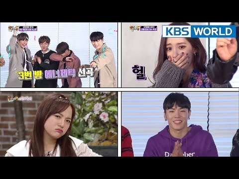 Happy Together | 해피투게더 –The Goddesses Special/ Sing My Song(WANNA ONE, SUNMI, etc) [ENG/2018.01.25]