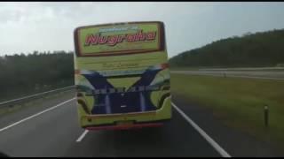 Mau Overtake Malah disiram Air kacanya!! Luragung jaya wulan vs PL Nugraha!!