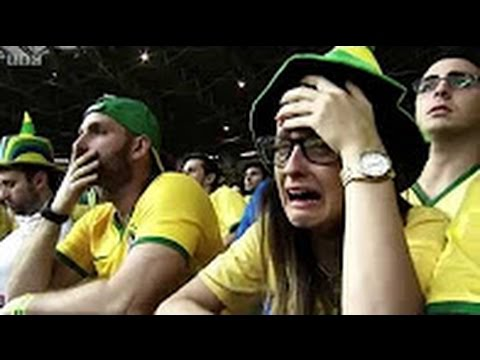 Brazil vs Germany 1-7 Highlights World Cup Semi-Final 2014