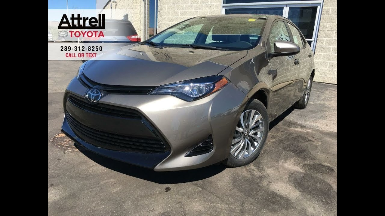 2019 Toyota Corolla Xle Review Brampton On Attrell Toyota Youtube