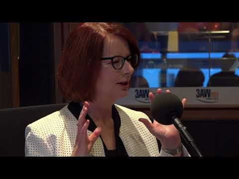 Julia Gillard joins Ross and John in studio on 3AW