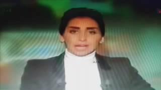 شاهد : خطأ مذيعة سورية يثير انتقادات واسعة بحقها