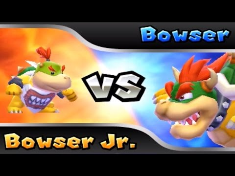 Mario Party: Island Tour (3DS) - Bowser's Tower w/Bowser Jr. [Complete Playthrough]