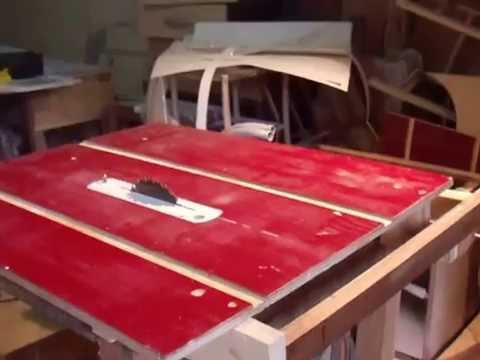 serra de bancada feita em casa - YouTube