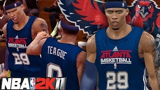 NBA 2K11 MyPLAYER #4 - Summer Circuit Game 1! A ONE MAN ARMY!