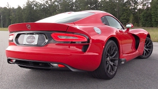 Pure Sound: Dodge/SRT Viper GTS (Cold Start, Revs, Track Driving & Launch Control!)