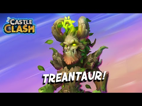 Castle Clash - Treantaur Review || Presented By BrutalTech