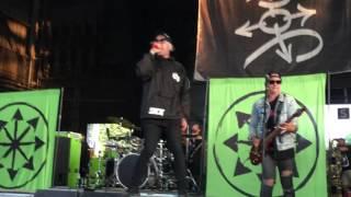 Attila: Proving Grounds - Warped Tour 2017 - 7/14/17 - KeyBank Pavilion - Burgettstown, PA
