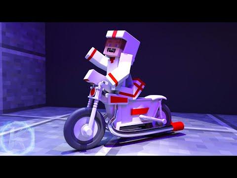 Toy Story 4 Duke Caboom TV Spot Minecraft Animation