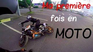 Première fois en moto ➜ Moto à terre