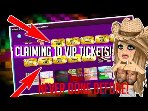 CLAIMING 10 VIP TICKETS (NEVER DONE BEFORE) - MSP [READ DESCRIPTION]
