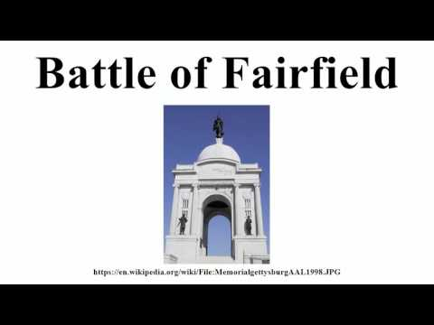 Battle of Fairfield