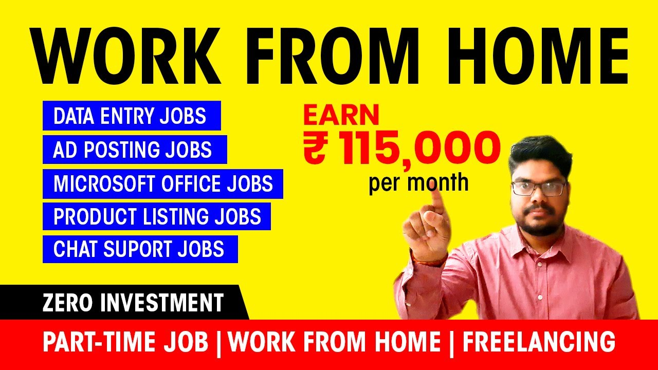 Data entry jobs and typing jobs, part-time job | Work from home | freelancing | guru.com