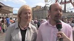 Anne Saarinen ja Mirko Lännenpää