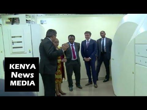 Margaret Kenyatta Opens First Medical PET CT Scanner At Aga Khan University!!!