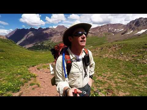 Solo Backpacking Maroon Bells Four Pass Loop - YouTube