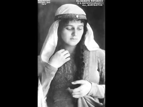 German Soprano Elisabeth Rethberg ~ Ave Maria (1924)