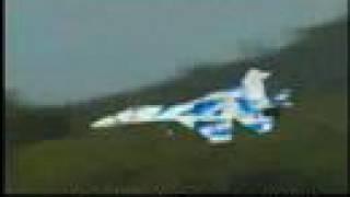 Awesome SU-27 Flanker Twin EDF Motor RTF RC Jet Plane