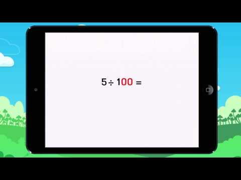 Learn how to divide by 10, 100, and 1,000 Lesson