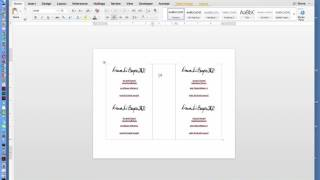 How to Create Two-Page Flyer in MS Office Word Document