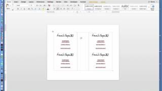Hoe Maak Twee Pagina ' Flyer in MS Office Word-Document