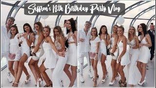 SAFFRON'S 18TH BIRTHDAY PARTY VLOG | JASMINE CLOUGH