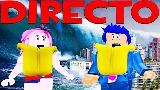 🔴DIRECTO OF ROBLOX🌊 WILL WE SURVIVE THE FLOODS?