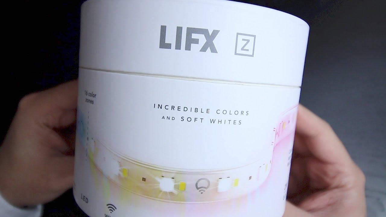 LIFX Z Smart LED Strip Starter Kit Setup and Overview