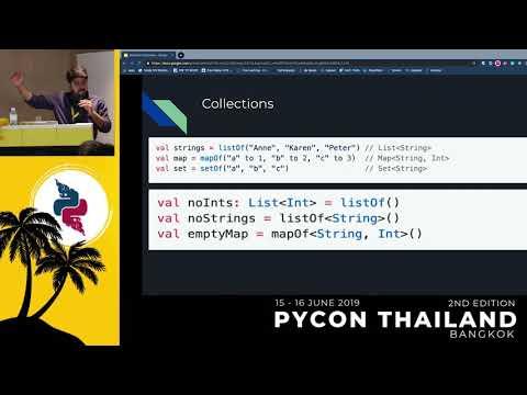 Talks   PyCon Thailand