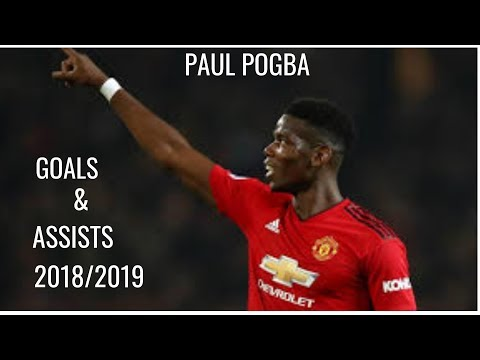 Paul Pogba►2018/2019 All Goals And Assists.