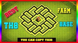 Town Hall 8 TH8 Farming Base 2019 Th8 Hybrid Base Tested Replays New Update Clash Of Clans