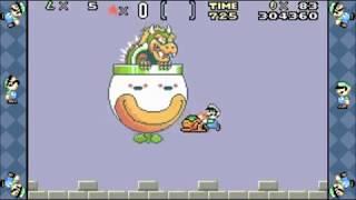 "[TAS] Super Mario Advance 2: Super Mario World ""Luigi Low% (Small Only)"" in 15:02.70"
