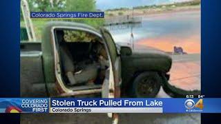 Six Years Later, Stolen Truck Found Submerged In Lake