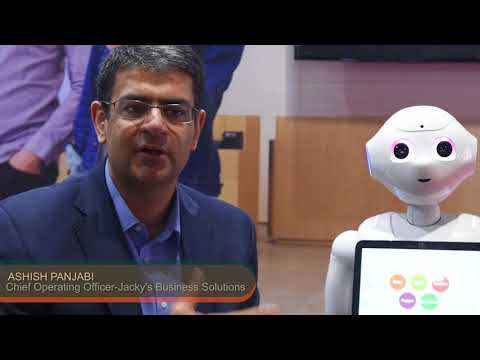 Jacky's Business Solution launches Pepper with SoftBank Robotics at Seamless ME 2018