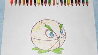 Plants Vs Zombies 2 Como Dibujar a Pomelo