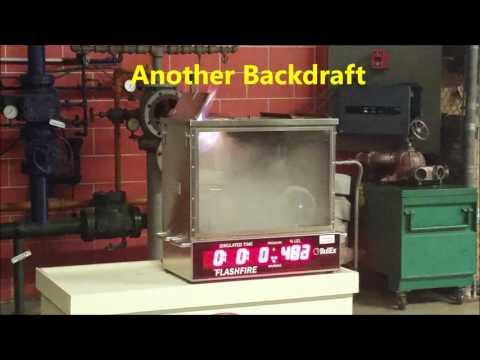 (Fixed/Reupload) Fire Department - Tabletop Flashfire Simulator (Flashover,  Backdraft, LEL, UEL)