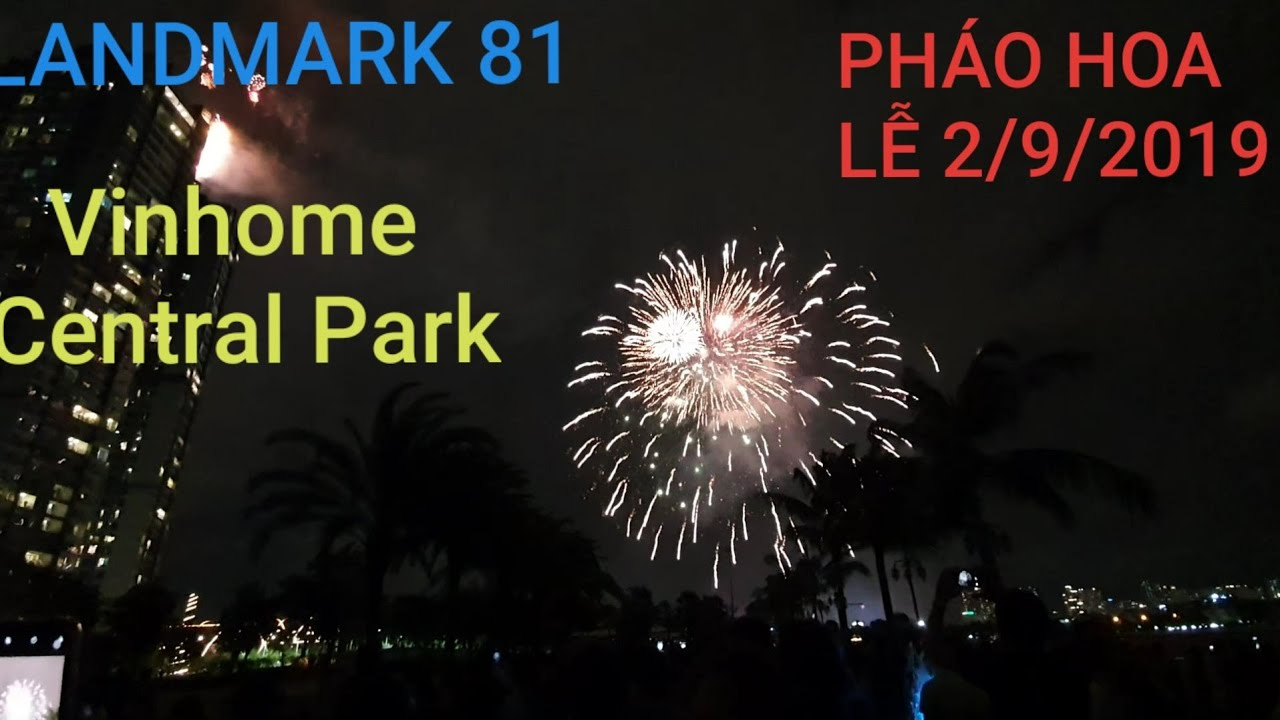 Vietnam Firework in Independent Day 2/9/2019