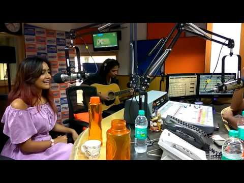 AMIKA SHAIL at Radio City Mumbai | Ankhan Sharabi
