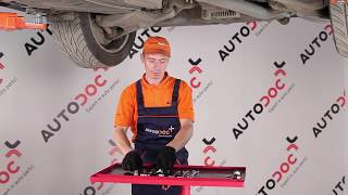 Como substituir a barra estabilizadora traseira no BMW 5 E60 [TUTORIAL]