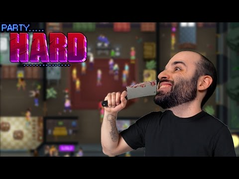 DE FIESTAS NADA!!! | PARTY HARD Gameplay Español