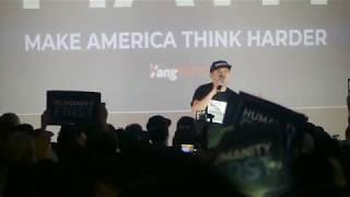 MC Jin at Andrew Yang LA Rally 🎈09/30th - Yang2020 🇺🇸