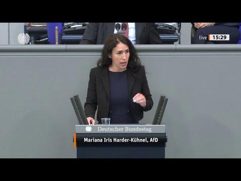 Bundestag: Es darf kein Entkriminalisierung pädophilen Sexualität geben. Mariana Harder Kühnel, AfD