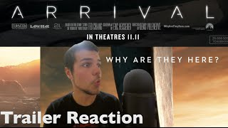 Arrival trailer #1 reaction