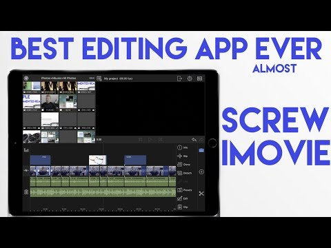 SCREW IMOVIE Luma fusion is best Editing App for iOS