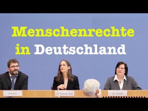 Bericht über die Situation der Menschenrechte in Deutschland - Komplette BPK vom 7. Dezember 2016