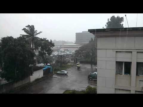 Rain in Kinshasa, DRC