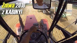 Vlog z kabiny ciągnika! ㋡  Żniwa 2018 | TFS Strażak