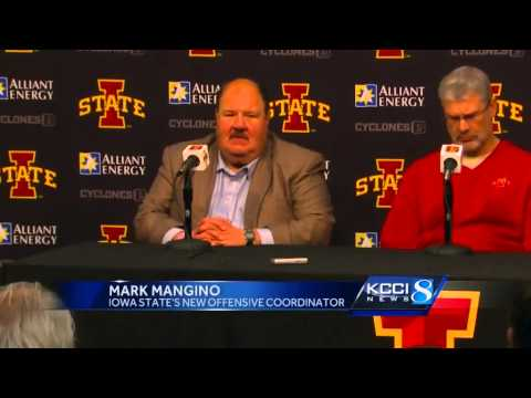 ISU introduces new coach Mark Mangino